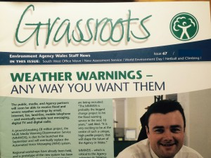 Grassroots - Environment Agency Wales staff newsletter