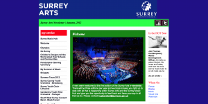 Surrey Arts Enewsletter
