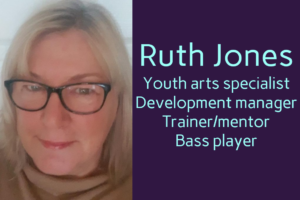 Ruth Jones youth arts specialist