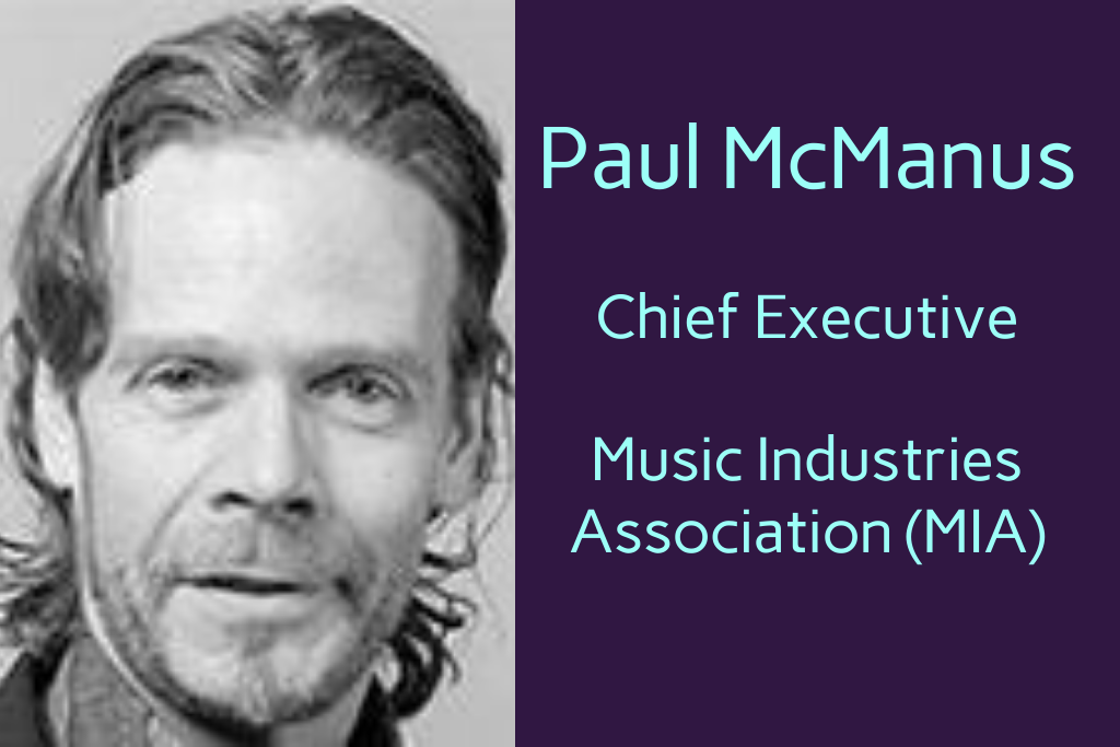 Paul McManus Music Industries Association (MIA)