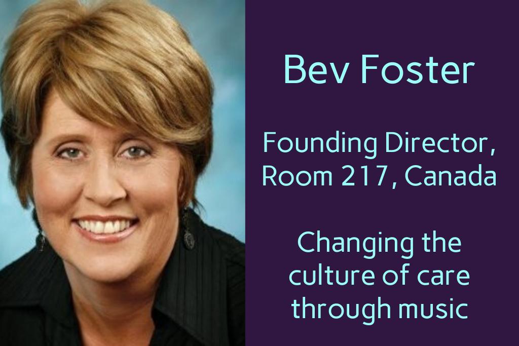 Bev Foster Room 217 Canada