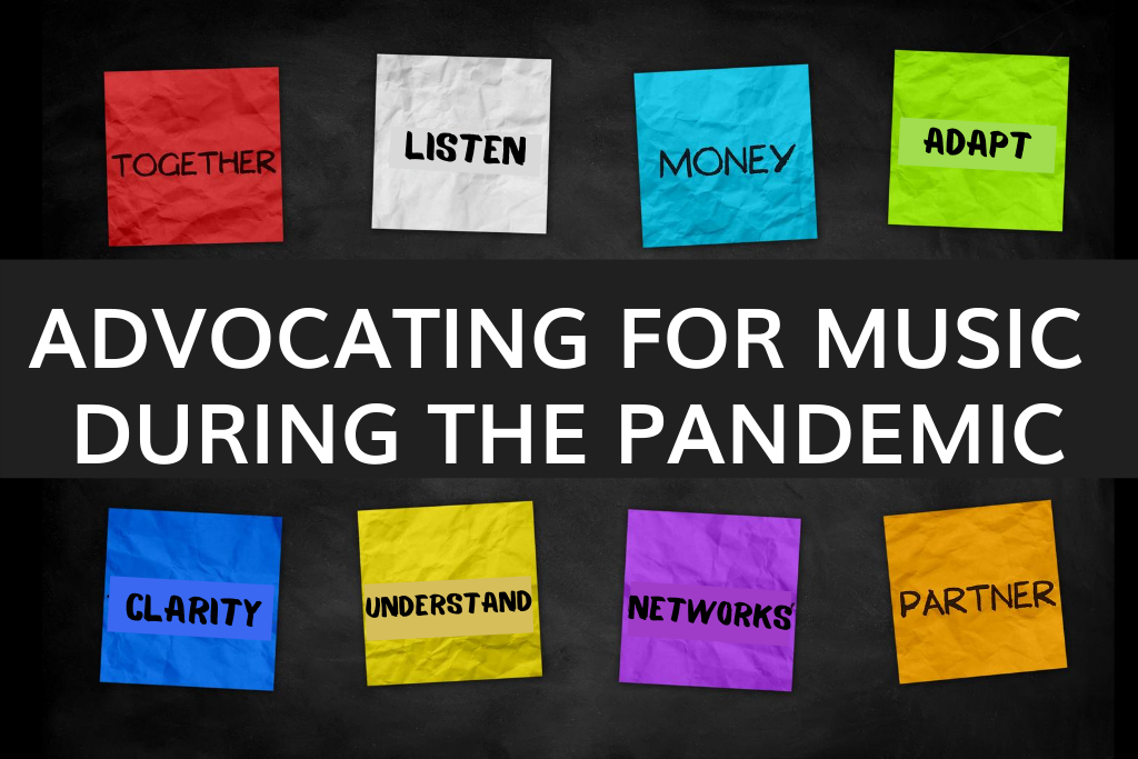 Advocating for music during the pandemic