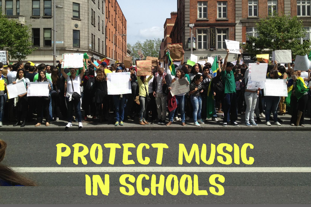 Image of people demonstrating