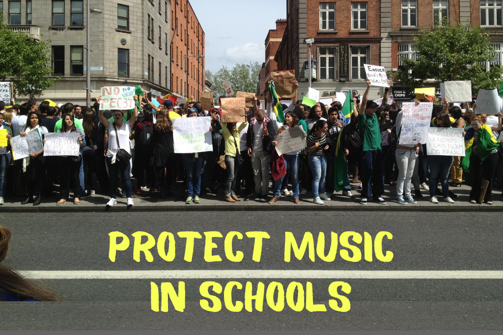 Protect music in schools image