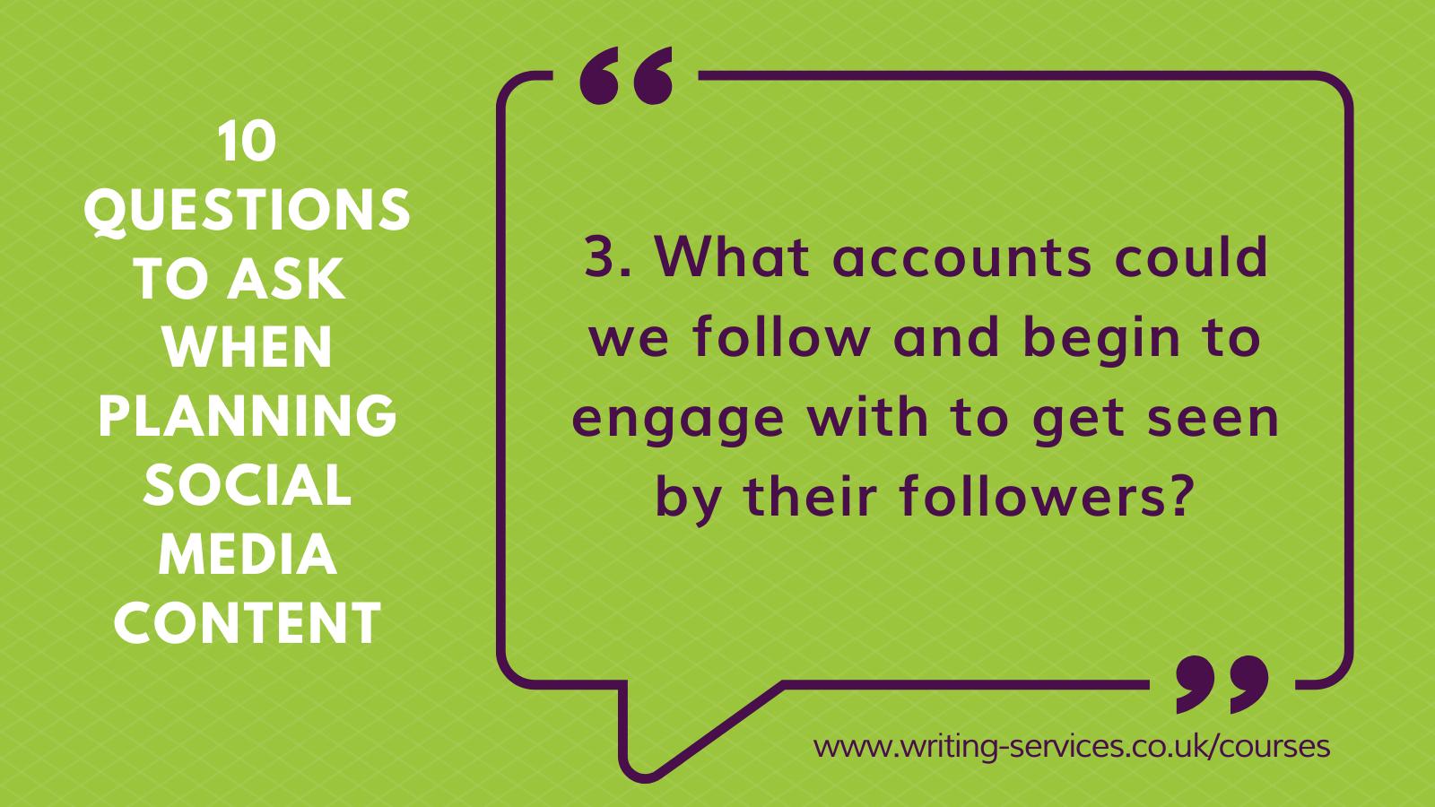 Social media tips 3